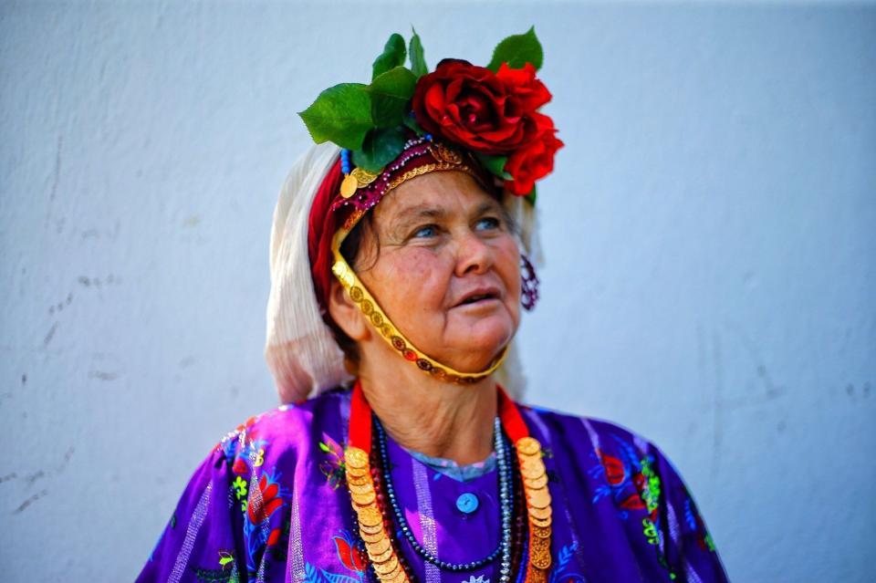 Muğla'nın Milas ilçesi köylerinden Çomakdağ Köyü Kadınları