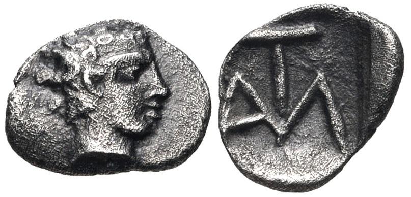 İ.Ö. 450 yıllarında basılmış olan ilk Latmos sikkesi